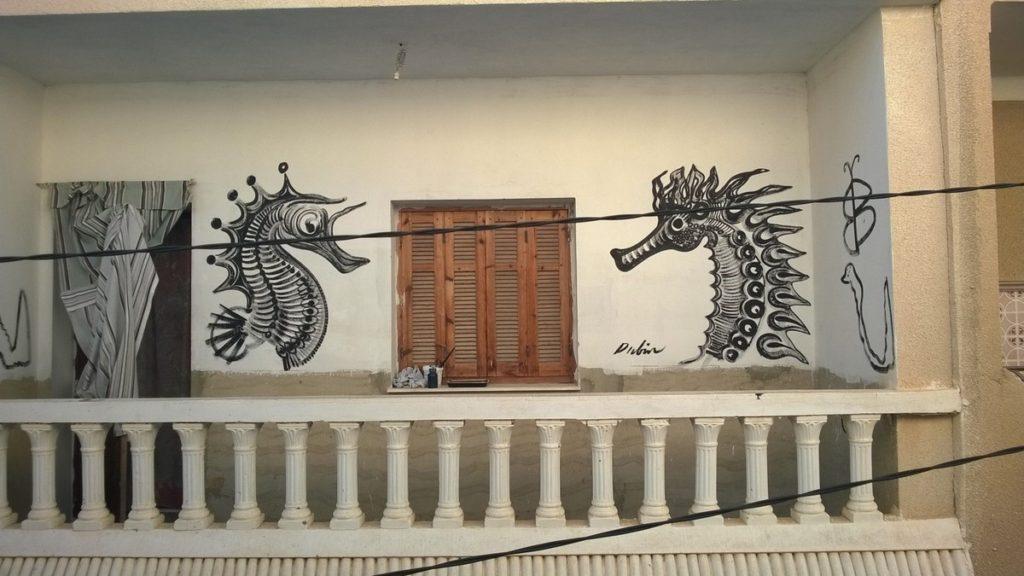 Balcony, Nabeul, Tunesia